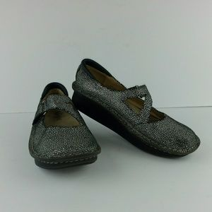 Alegria leather Mary Janes
